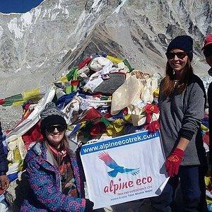 Everest Base Camp Trek in November 2015 with Alpine Eco Trek.
