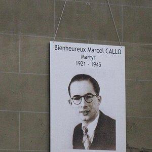 Santo Patrono della Parrocchia, Marcel Callo (martire)
