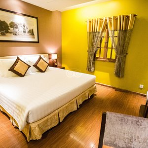 The Deluxe Room at the Grand Silverland Hotel & SPA