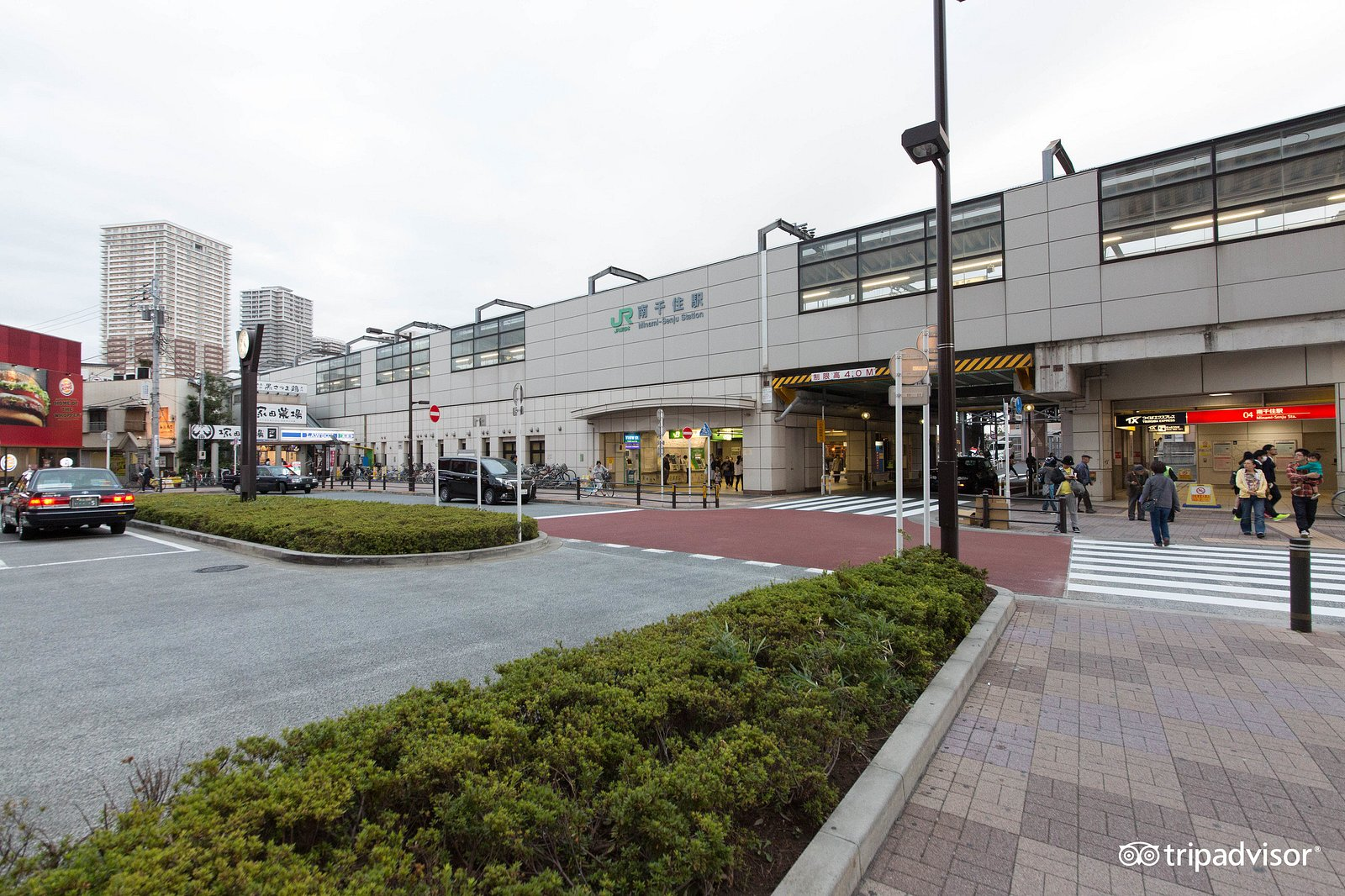 Street at the Chiyoda Inn