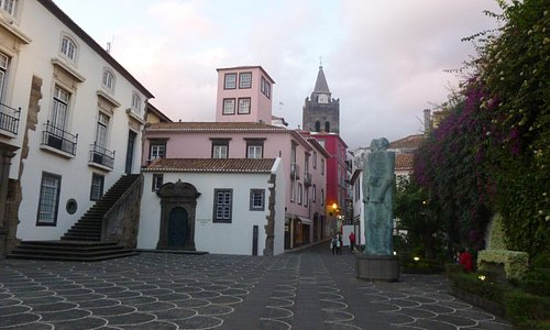 FUNCHAL CATHEDRAL WEST OF ZONA VELHA