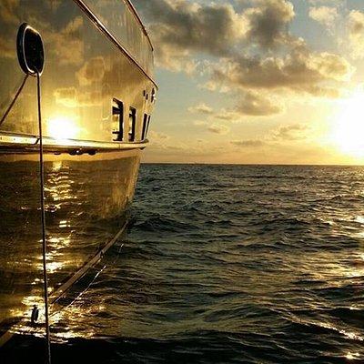 Beautiful Sunset in Cancun