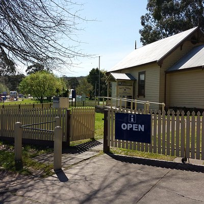 The Yarra Valley Information Centre, Healesville, Vic.