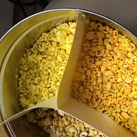 More chopped corn