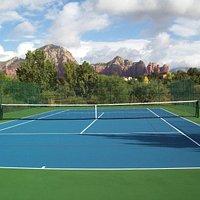 Tennis in Sedona