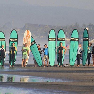 Surf school in Bali