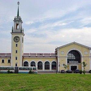 железнодорожный вокзал волховстрой
