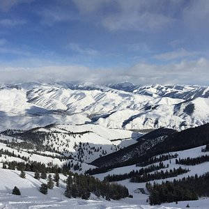 View from Sun Valley