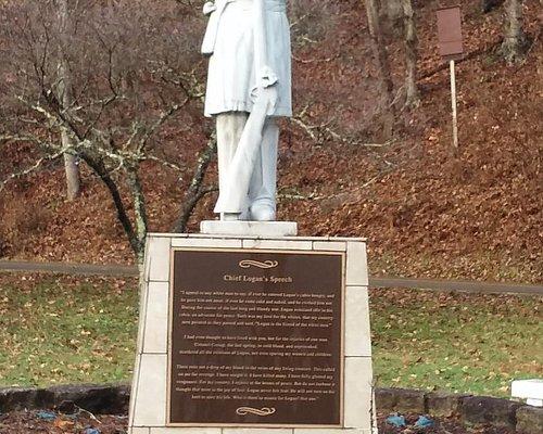 Chief Logan Statue