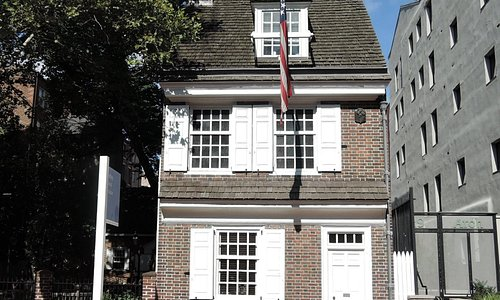Betsy Ross House front view