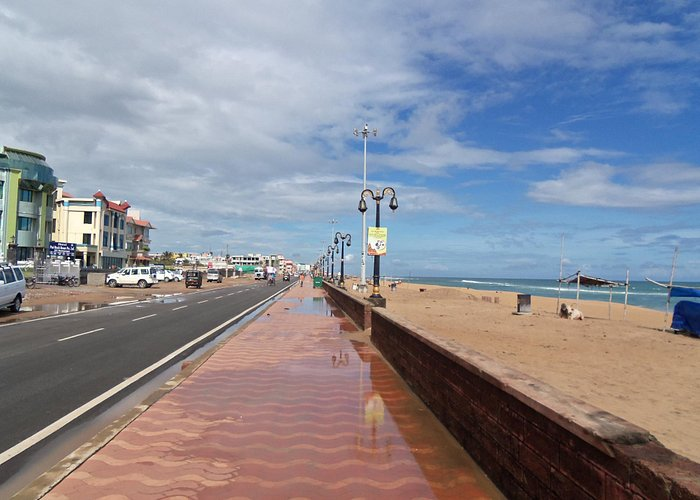 New Marine Drive Puri after a shower