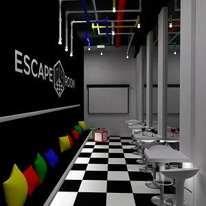 Escape Room Lobby