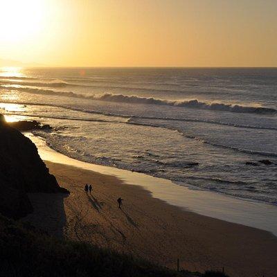 Playa de Viejo Rey. La Pared. 24 dec. 2015