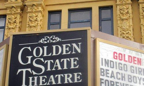 Golden State Theatre, Alvarado Street, Monterey, Ca