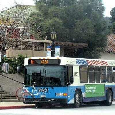 Bus - Monterey-Salinas Transit, Monterey, Ca