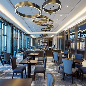 Horizon Club Lounge Buffet Area