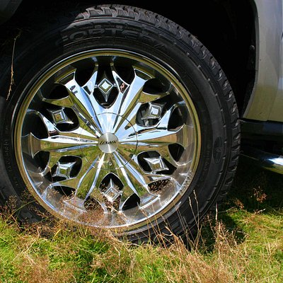 22inch Chrome wheels