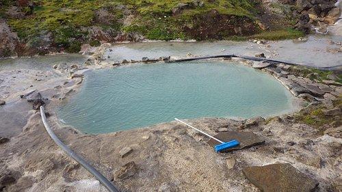 Basen geotermalny, genialna regulacja temperatury wody...