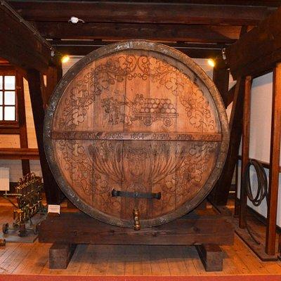 Legendary beer barrel