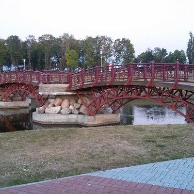 В парке города Лида