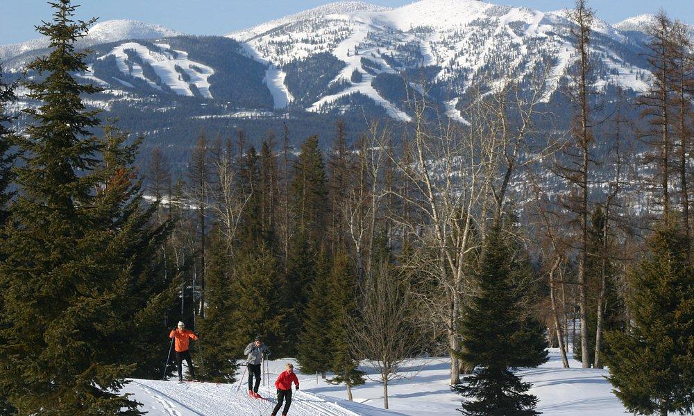Nordic skiing in Whitefish, Montana (image courtesy Brian Schott / Whitefish CVB)