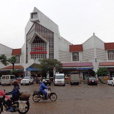 de Dong Ha markt