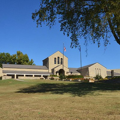 Wide view of the southern elevation in October.