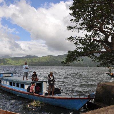 Lake Buhi Pier