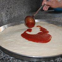 Pomodoro su pizza