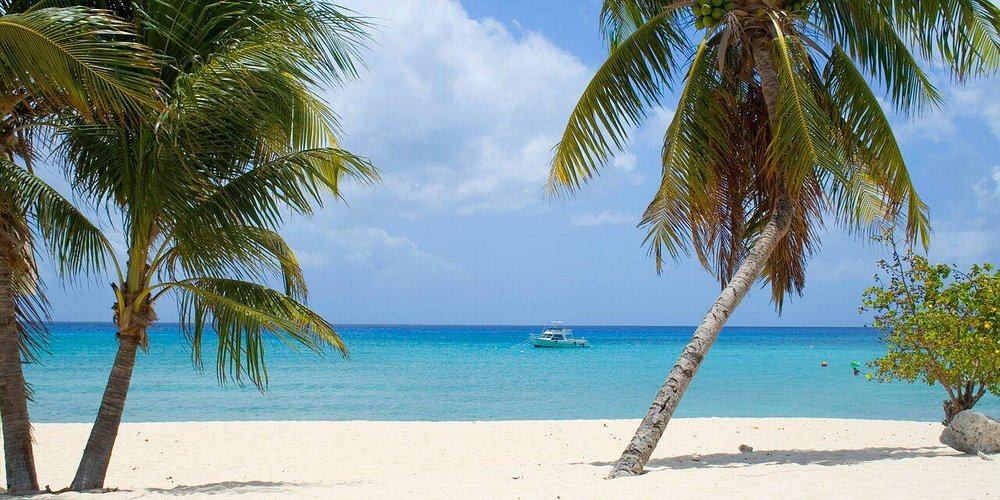 Pristine beaches of the Cayman Islands