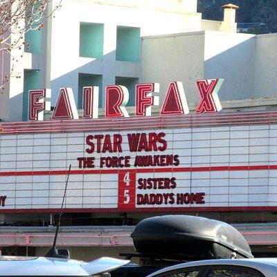 Fairfax Theatre, Fairfax, Ca
