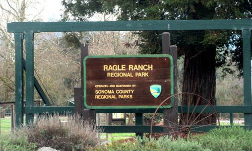 Ragle Ranch Regional Park, Ragle Road, Sebastopol, Ca