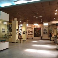 Ho Chi Minh Trail Museumの展示室