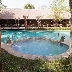 The Monsoon Lodge Pool at The Menjangan