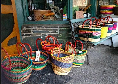 Baskets for sale at Charlie's Quilts and Sew Much More