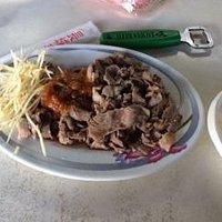 生姜と羊肉炒め