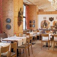 Teilansicht Restaurant Peter & Wolff