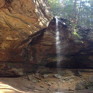 Falls at Ash Cave