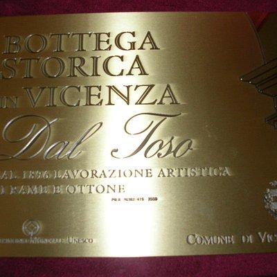 Conferimento del Comune di Vicenza a Bottega Storica