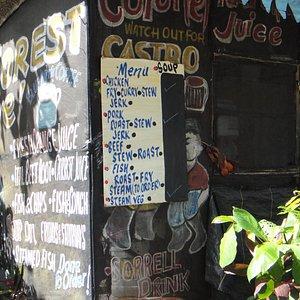 Rain Forest Cafe-Heading up Fern Gully