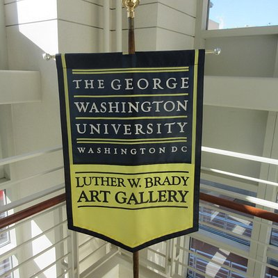 Look for this sign when in the building (at the stairs)