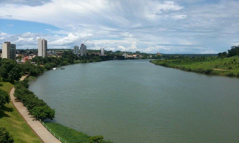 Vista do Farol de Itumbiara