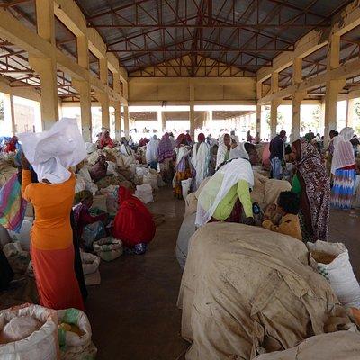 Senafe Town Grain and Vegetable Market(Not Asmara)