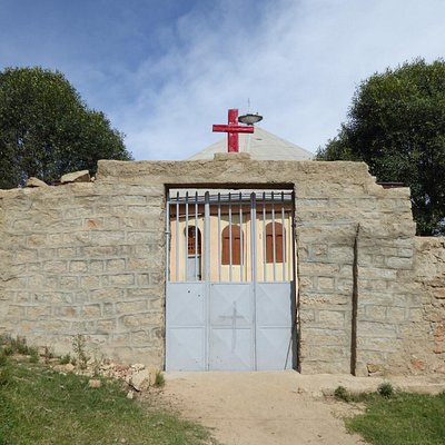 司祭向けの教会入り口