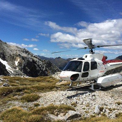 Scenic location in Fiordland