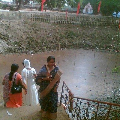 Sacred pond, it is believed that Sati's bones fallen here