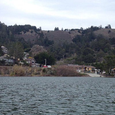 View of Jenner from my Kayak.