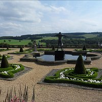 View from the Terrace cafe at Harewood