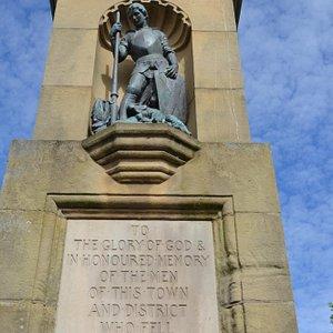 Memorial & Statue Close-Up