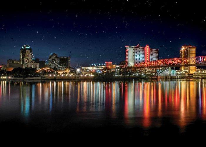 Shreveport-Bossier, Louisiana Skyline